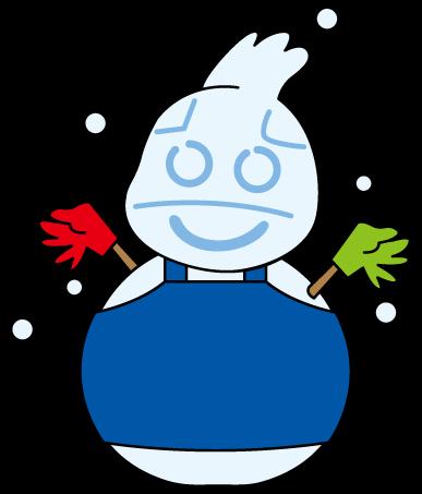 雪だるまポッポ