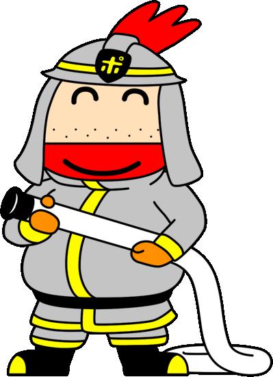 消防士ポッポ